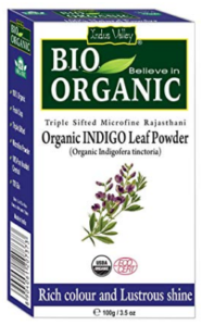 Indus Valley Organic Indigo Powder Hair Color