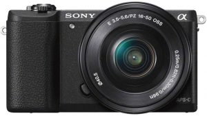 Sony Alpha ILCE5100L 24.3MP Digital SLR Camera with 16-50mm Lens