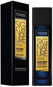 AXE Signature Gold Black Musk and Cedar Wood Perfume