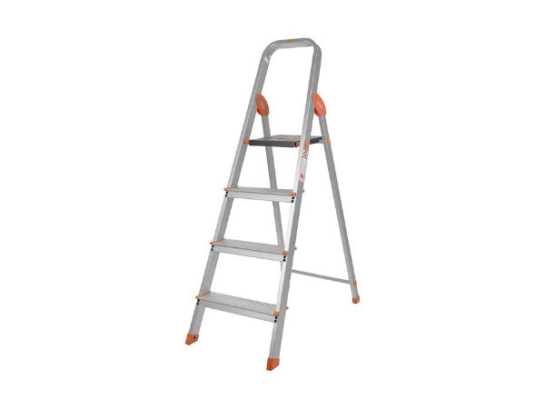 Bathla Advance Carbon - 4 Step Foldable Aluminium Ladder