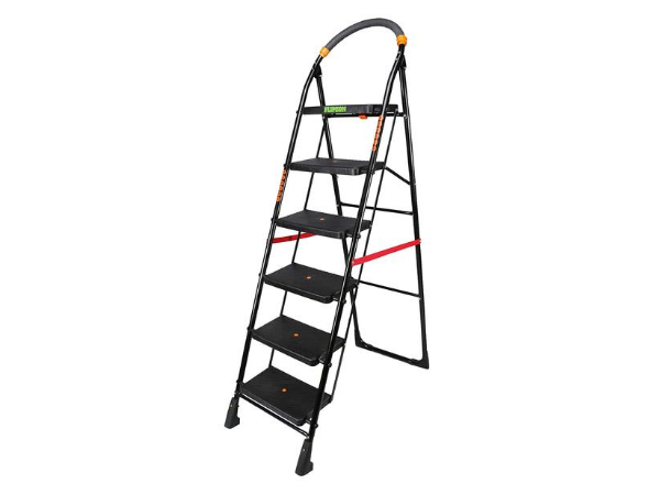 FLIPZON Premium Heavy Foldable Cameo 6 Steps Ladder