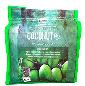 Bokashi Bran Organic Coconut Manure  for Coconut Tree
