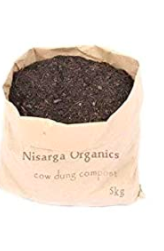 Homemade Organic Fertilizer Cow Dung Manure and Compost